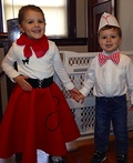 1950's Poodle Girl and Soda Jerk Costume