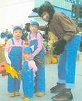 3 Little Pigs & Big Bad Wolf Costume