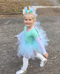 A Unicorn Named Sparkle Costume
