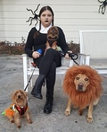 Adams Family Wednesday Costume