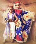 Aladdin and Magic Carpet Costume