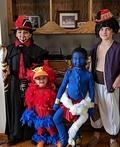 Aladdin Characters Costume