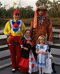 Alice in Wonderland and Friends Costume