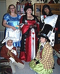 Alice in Wonderland Characters Costume