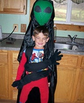 Alien Abduction and Mouse Trap Costume