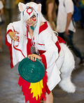 Amaterasu from The Game OKAMI Costume