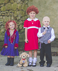 Annie Characters Costume