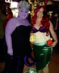 Ariel and Ursula Costume