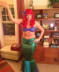 Ariel: High School Principal Style Costume