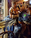 Astrid and Stormfly Costume