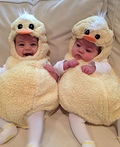 Baby Ducks Costume