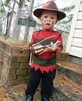 Baby Freddy Krueger Costume