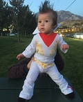 Baby Girl Elvis Costume