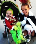 Baby Grinch and Cindy Lou Who Costume