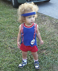 Baby Richard Simmons Costume
