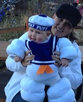 Baby Stay Puft Marshmallow Costume