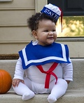 Baby Stay Puft Marshmallow Man Costume
