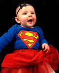 Baby Super Girl Costume
