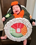 Baby Sushi Roll Costume