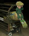 Baby Velociraptor Costume