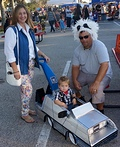 Back to the Future Family Costume