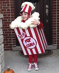 Bag of Popcorn Costume