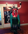 Bane and Poison Ivy Costume