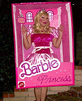 Barbie in the Box Costume