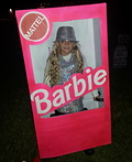 Barbie in her Box Costume
