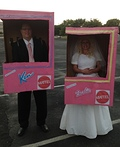 Barbie and Ken in a Box Costume
