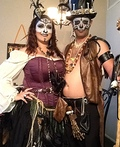 Baron Samedi and Madame Brigitte Costume