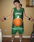 Basketball Belly Costume