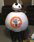 BB8 on Wheels Costume