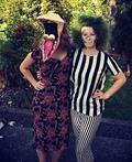 Beetlejuice and Barbara Costume