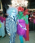 Beetlejuice and Miss Argentina Costume