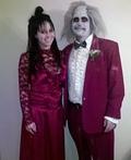 Beetlejuice & Lydia Deetz Costume