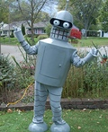 Bender Bending Rodriguez from Futurama Costume