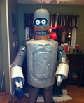 Bender from Futurama Costume
