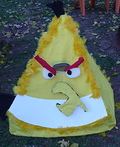 Yellow Angry Bird Costume