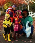 Big Hero 6 Family Costume