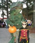 Big Juvenile T-Rex Costume