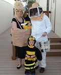 Bit-O-Honey Family Costume