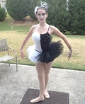 Black and White Swan Costume