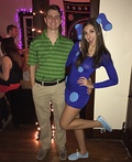 Blue and Steve Costume