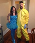 Blue Meth and Walter White Costume