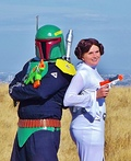 Boba Fett and Princess Leia Costume