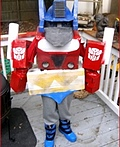Optimus Prime Transformer Costume