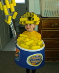 Bowl of Mac and Cheese Costume