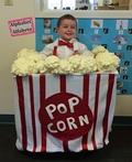 Box of Popcorn Costume
