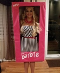 Boxed Barbie Costume